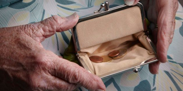 Pension planning to avoid poverty in