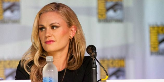 SAN DIEGO, CA - JULY 20: Anna Paquin attends the 'True Blood' Panel and Q&A Session - Comic-Con International 2013 at San Diego Convention Center on July 20, 2013 in San Diego, California.  (Photo by Gabriel Olsen/Getty Images)