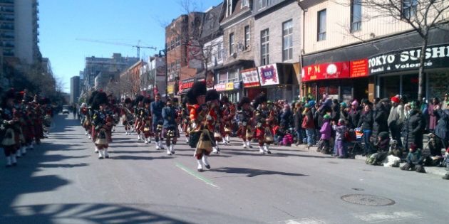 Le 191e défilé de la Saint-Patrick de Montréal aura lieu