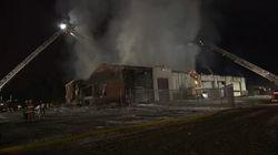 Un incendie éclate dans une caserne de pompiers de