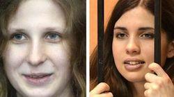 Les deux Pussy Riot sont remises en liberté après l'amnistie du Kremlin