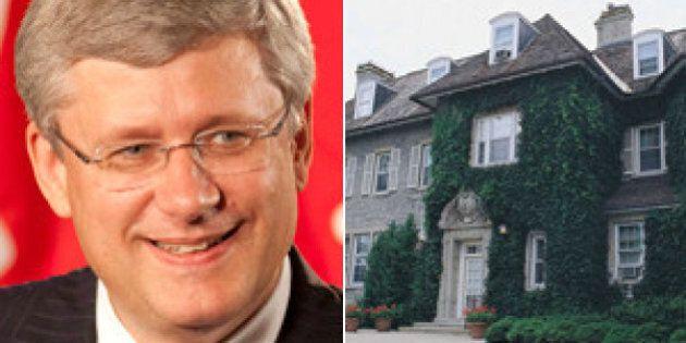 La résidence de Stephen Harper vaut cher, très cher