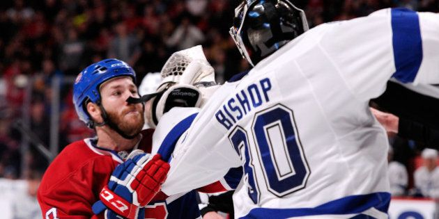 Le Canadien s'incline en prolongation devant le Lightning de Tampa