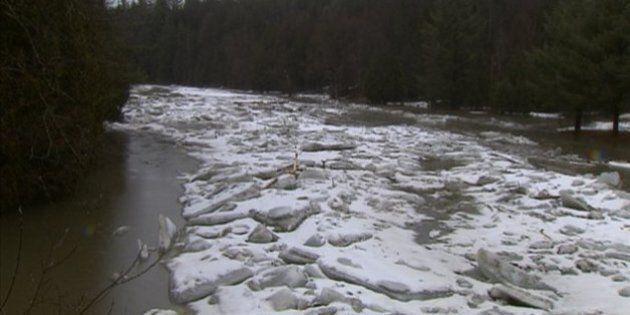 La Sécurité civile surveille quelques rivières en Estrie et en