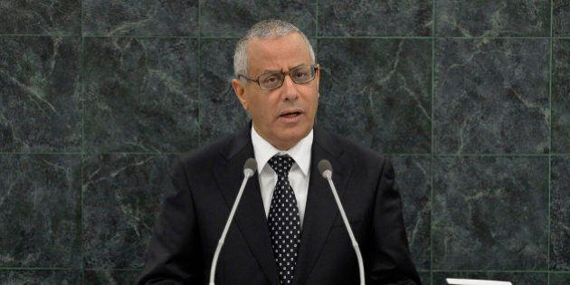 Le premier ministre libyen enlevé, puis libéré, par
