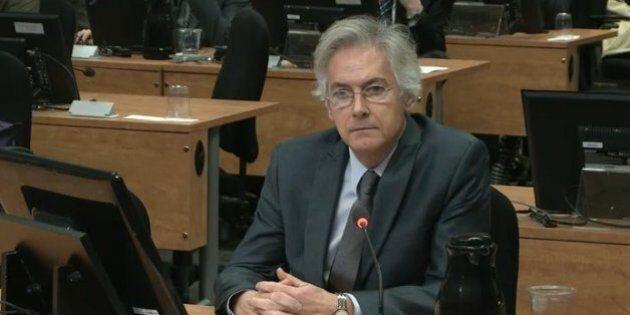 Commission Charbonneau: Guy Gionet, un PDG bien