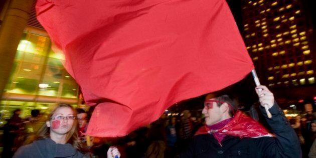 Arrestations lors de manifestations à Québec: des étudiants déposent une