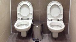 Sotchi: les toilettes jumelles font un retour dans l'actualité
