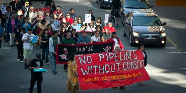 Northern Gateway: les opposants ne veulent rien