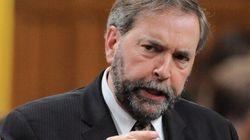 Prorogation du Parlement: Harper fuit et a peur, dit