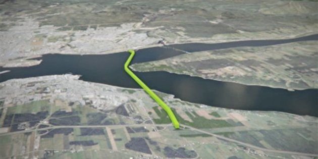 Tunnel sous-fluvial à Québec: les coûts avancés sont mis en