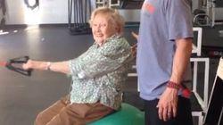 À 97 ans, Edna est peut être en meilleure forme que