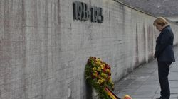 Dachau, Angela Merkel exprime sa