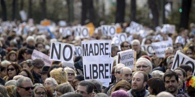 Grande manifestation en Espagne contre la limitation de