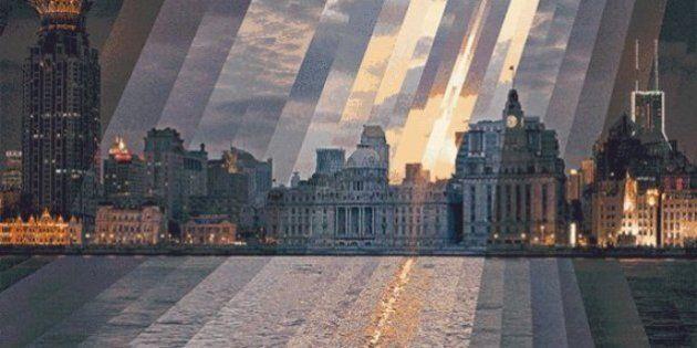 Ces beaux GIFs montrent des villes passer du jour à la