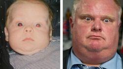 Votre bébé ressemble-t-il à Rob Ford?