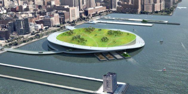 Les «îles flottantes»: nouveau projet écologique de la ville de New