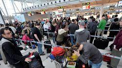 Encore des retards dans les aéroports de Montréal et