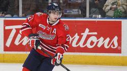 Scott Laughton, des Generals d'Oshawa, est nommé capitaine d'Équipe Canada