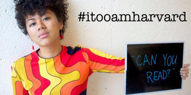 Contre le racisme à Harvard, les étudiants noirs du campus lancent une campagne originale