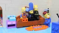 Le générique de la famille Simpson recréé en LEGO