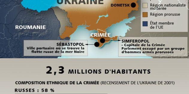 Le Parlement de Crimée réclame une annexion à la