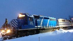 Lac-Mégantic: des locomotives de la MMA traversent le