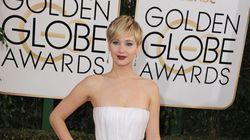 Jennifer Lawrence perd ses diamants sur le tapis rouge des Golden