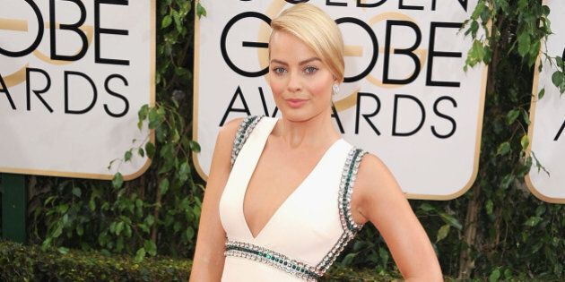 BEVERLY HILLS, CA - JANUARY 12:  Actress Margot Robbie attends the 71st Annual Golden Globe Awards held at The Beverly Hilton Hotel on January 12, 2014 in Beverly Hills, California.  (Photo by Steve Granitz/WireImage)