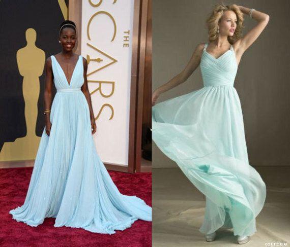 Oscars 2014: les robes des stars pour une fraction du