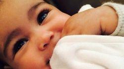 Kim Kardashian accusée d'épiler sa fille de 6 mois (VIDÉO /