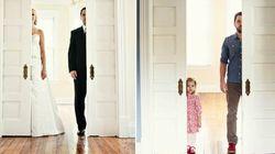 Veuf, il recrée ses photos de mariage avec sa fille