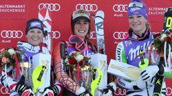 Marie-Michèle Gagnon victorieuse à la Coupe du monde