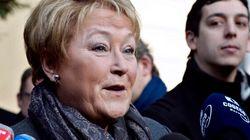 Pauline Marois rencontre François Hollande à l'Élysée