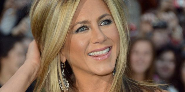 TORONTO, ON - SEPTEMBER 14: Actress/producer Jennifer Aniston arrives at the 'Life Of Crime' Premiere...