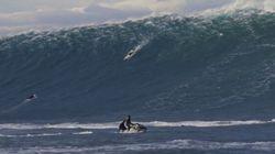 Surf: la vague géante de Belharra capturée par un cinéaste