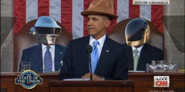 Les Daft Punk au discours sur l'état de