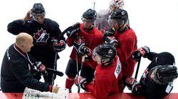 L'équipe de hockey junior du Canada s'envole pour la