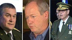 Quatre anciens hauts gradés de la SQ accusés de