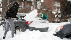 La tempête de neige qui balaie le centre du Canada cause des