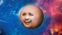 La planète Hillary fait rire le Web