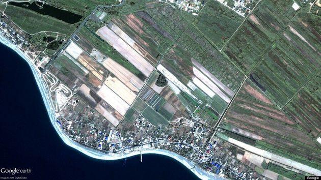 Des photos satellites avant/après du village olympique de Sotchi