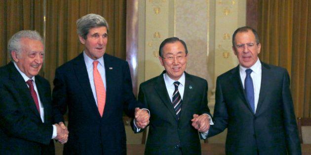 Première rencontre au sommet entre des proches d'Assad et des opposants