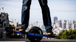 Onewheel, le skate (intelligent) à une roue