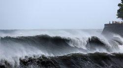 Le cyclone Bejisa atteint l'île française de la