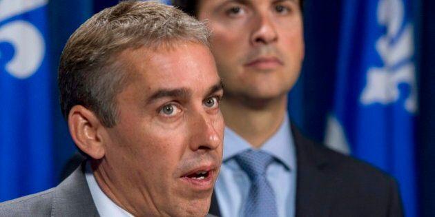 Budget fédéral: le ministre Marceau dénonce le fédéralisme prédateur pratiqué à