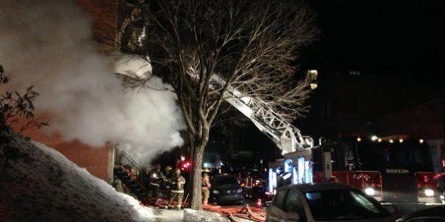Incendie majeur dans un immeuble résidentiel du