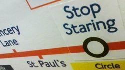 Quand le métro londonien fait sourire