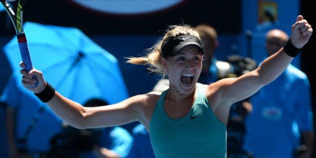 Eugenie Bouchard atteint les demi-finales