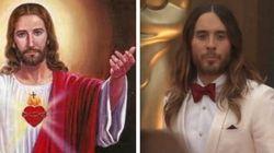 Jared Leto s'habille en Jésus pour les Oscars